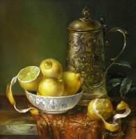 Lemons. (2001 г) 35х35  (oil on canvas)