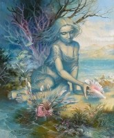Mirages. (1998) 60х50 (oil on canvas)